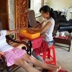 les filles à Bali, le paradis